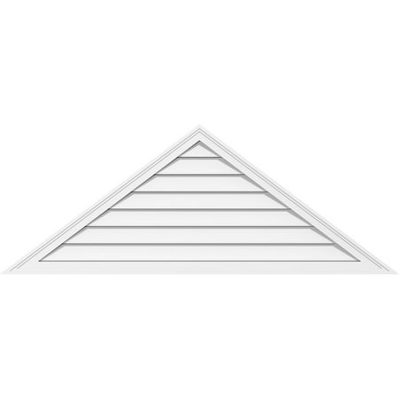 70 W x 35 H Triangle Surface Mount PVC Gable Vent 12 12 Pitch Functio