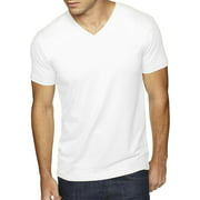 Hat and Beyond Men's Short Sleeve Premium Solid Cotton V Neck T-Shirts