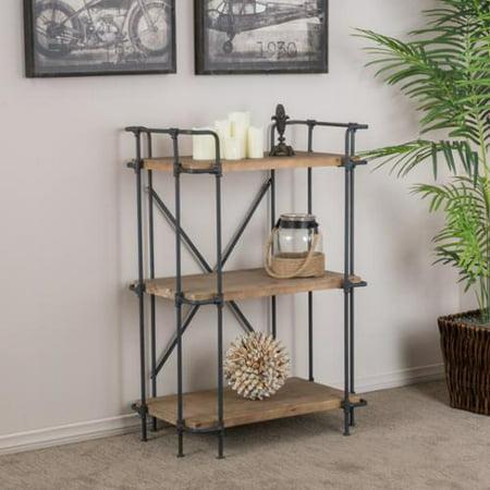 Denise Austin Home Brooklyn 3 Shelf Bookcase Walmart Com