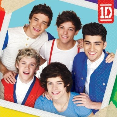One Direction Small Napkins (16ct) - image 1 de 1