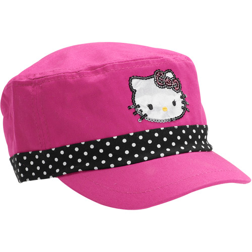 Hello Kitty Girls' Cadet Hat