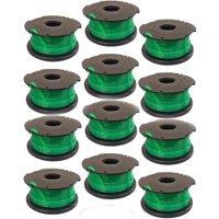 Replacement Trimmer Spool for Black and Decker GH3000 AFS Auto Feed 12 Pack