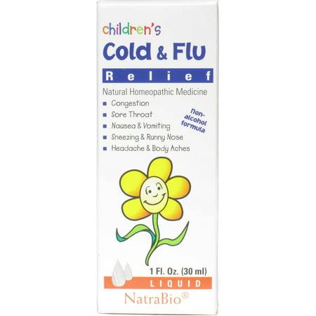 Natra Bio Enfant Rhume et grippe, 1 OZ
