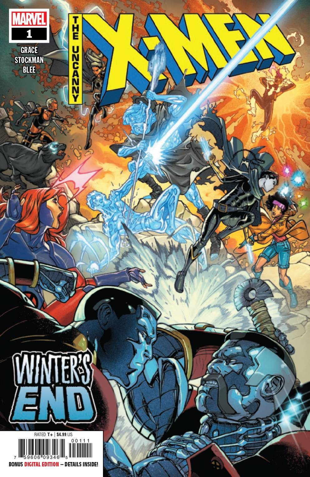 Marvel Uncanny X-Men #1 [Winters End] by