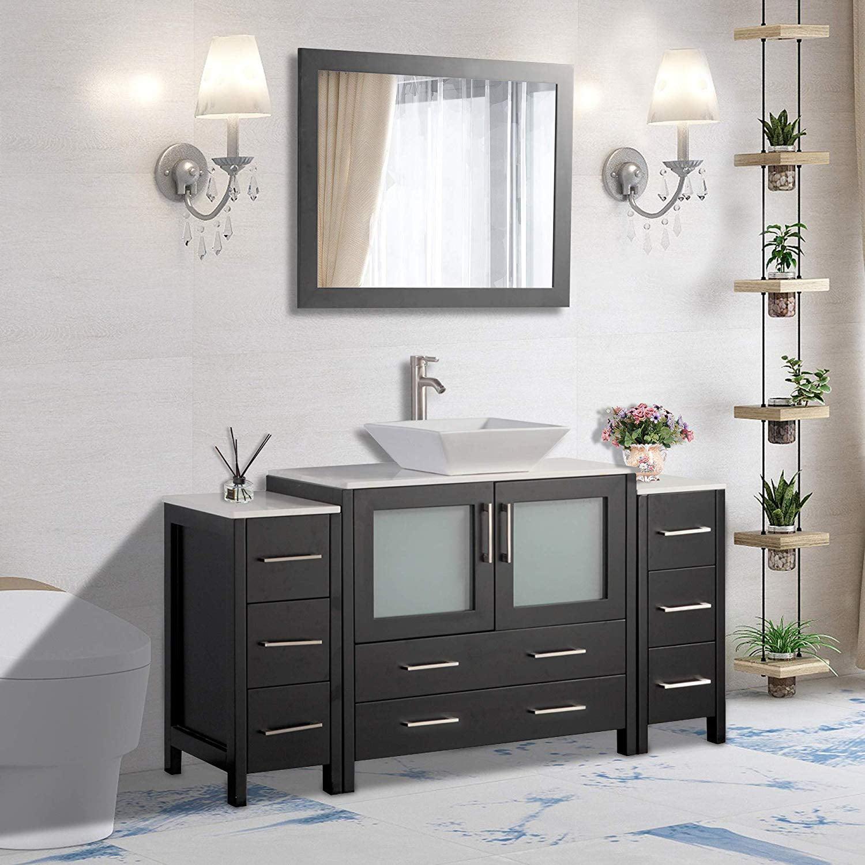 Vanity Art 60 Quot Single Sink Bathroom Vanity Combo Set 8