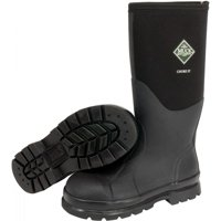 Servus by Honeywell Size 11 Muck Chore Black 16'' Insulated Neoprene And CR Flex-Foam Boots With Vibram Outsole, Steel Toe, And EVA Sock Liner