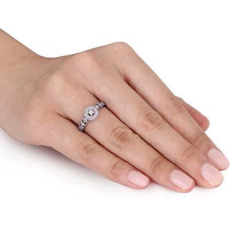 1 6 Carat T W Diamond Engagement Ring I Walmart Com