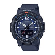 Casio Men's Pro Trek Quad Sensor with Bluetooth Smart Connect, Blue
