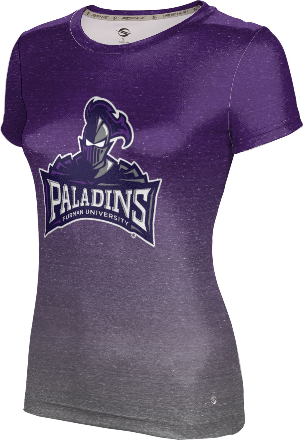 ProSphere Girls' Furman University Ombre Tech Tee