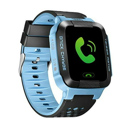 smart watch compatible with iphone anti lost smart bracelet gps tracker sos call 7327