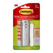 Command Universal Picture Hanger, 3 Hangers, 6 Strips Per Pack