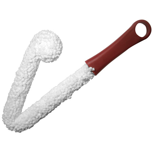 Epicureanist Wine Decanter Cleaning Brush in White and Red (Set of 2)