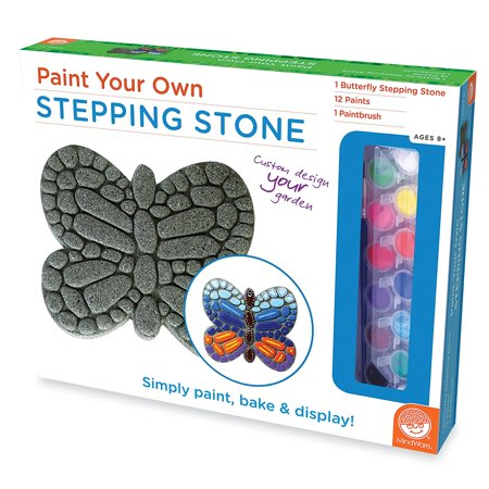 Image of Paint Your Own Stepping Stone: Turtle, EXPRESS YOUR CREATIVITY: Paint Your Own Stepping Stone from MindWare is ready to paint right out of the box, letting.., By MindWare