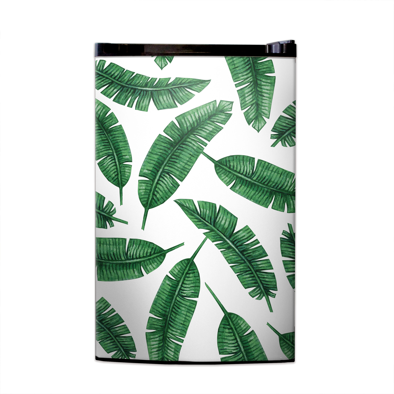 Banana Leaf Print Fridge Skin