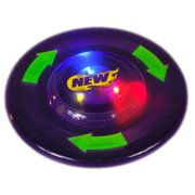 "8"" Purple Flying Disc Ultimate Light Up Party Frisbee"