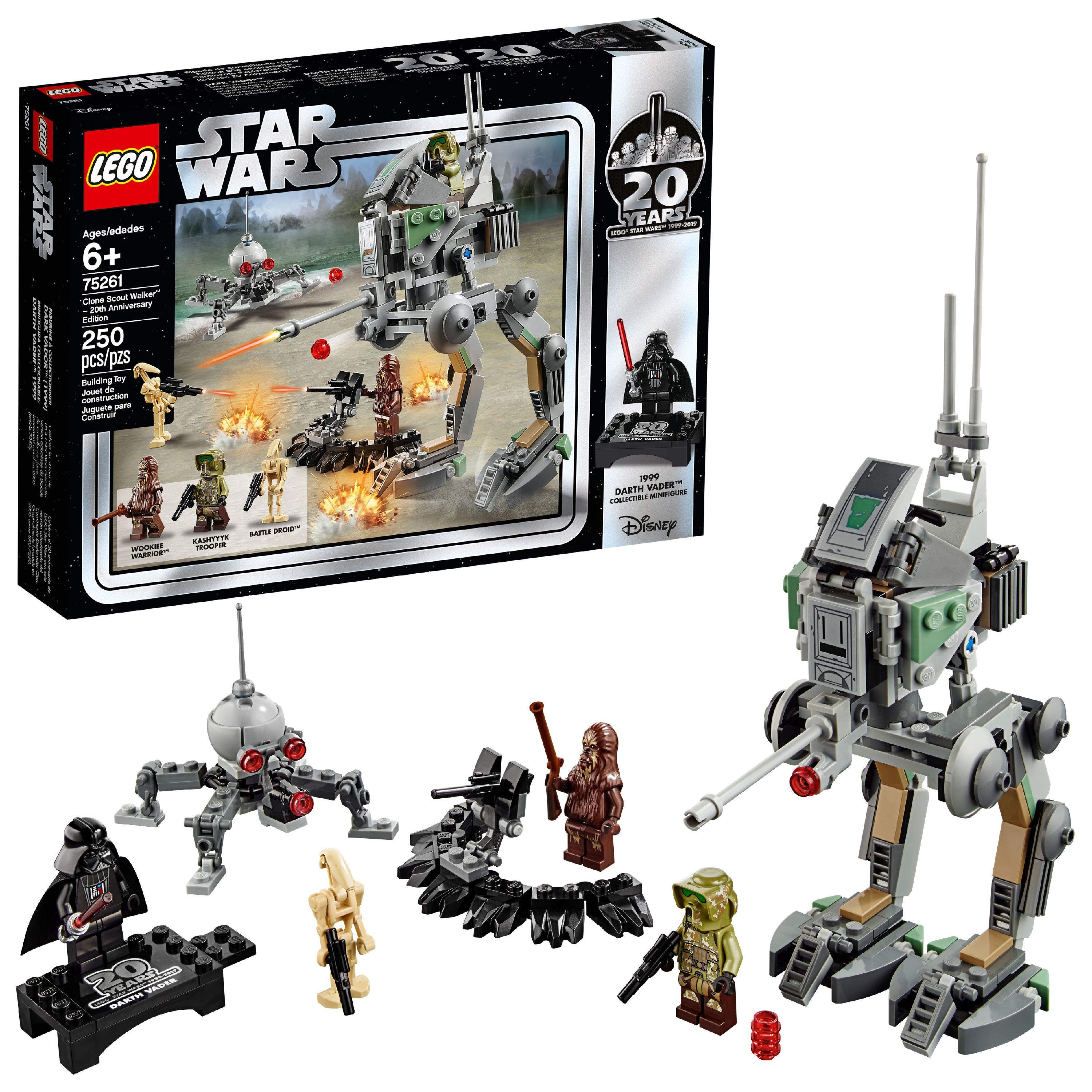 LEGO Star Wars TM 20th Anniversary Edition Clone Scout Walker 75261