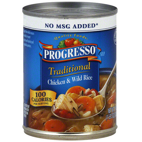 Progresso Traditional Chicken & Wild Rice Soup, 19 oz (Pack of 12)