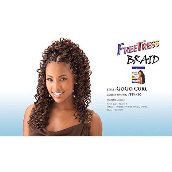 Freetress Bulk Gogo Curl Tt33 Walmartcom