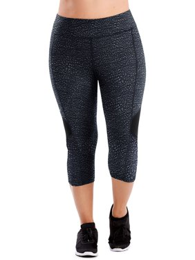 349dcec2f41 Product Image Just My Size Women s Plus Active Colorblocked Performance  Capri Leggings