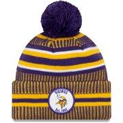 Minnesota Vikings New Era Youth 2019 NFL Sideline Home Sport Knit Hat - Purple/Gold - OSFA