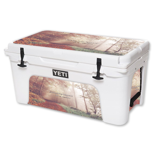 MightySkins Protective Vinyl Skin Decal for YETI Tundra 65 qt Cooler wrap cover sticker skins Happens For A Reason