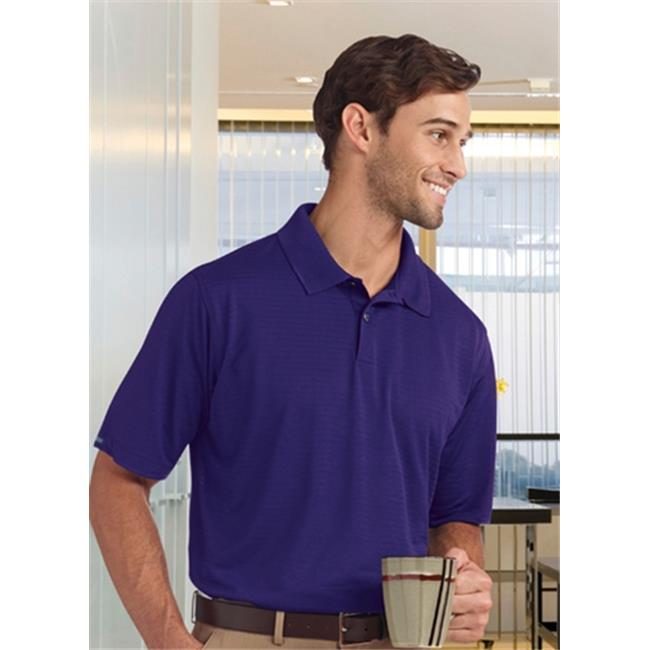 Bermuda Sands 755 Mens Shadow Performance Polo - Purple, Medium