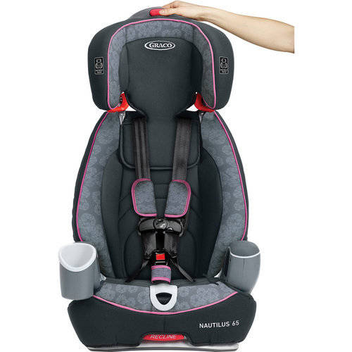 graco nautilus 65 3-in-1 harness booster car seat, track - walmart
