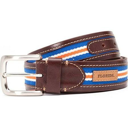 jack mason brand jmu-2006-fl-38 florida tailgate belt, size 38