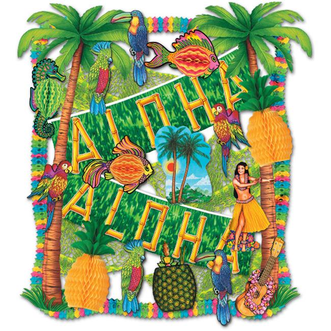 DDI 526780 Luau Decorating Kit - 27 Piecess  Case of 1