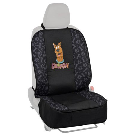Scooby-Doo Waterproof Front Dog Car Seat Cover, Black