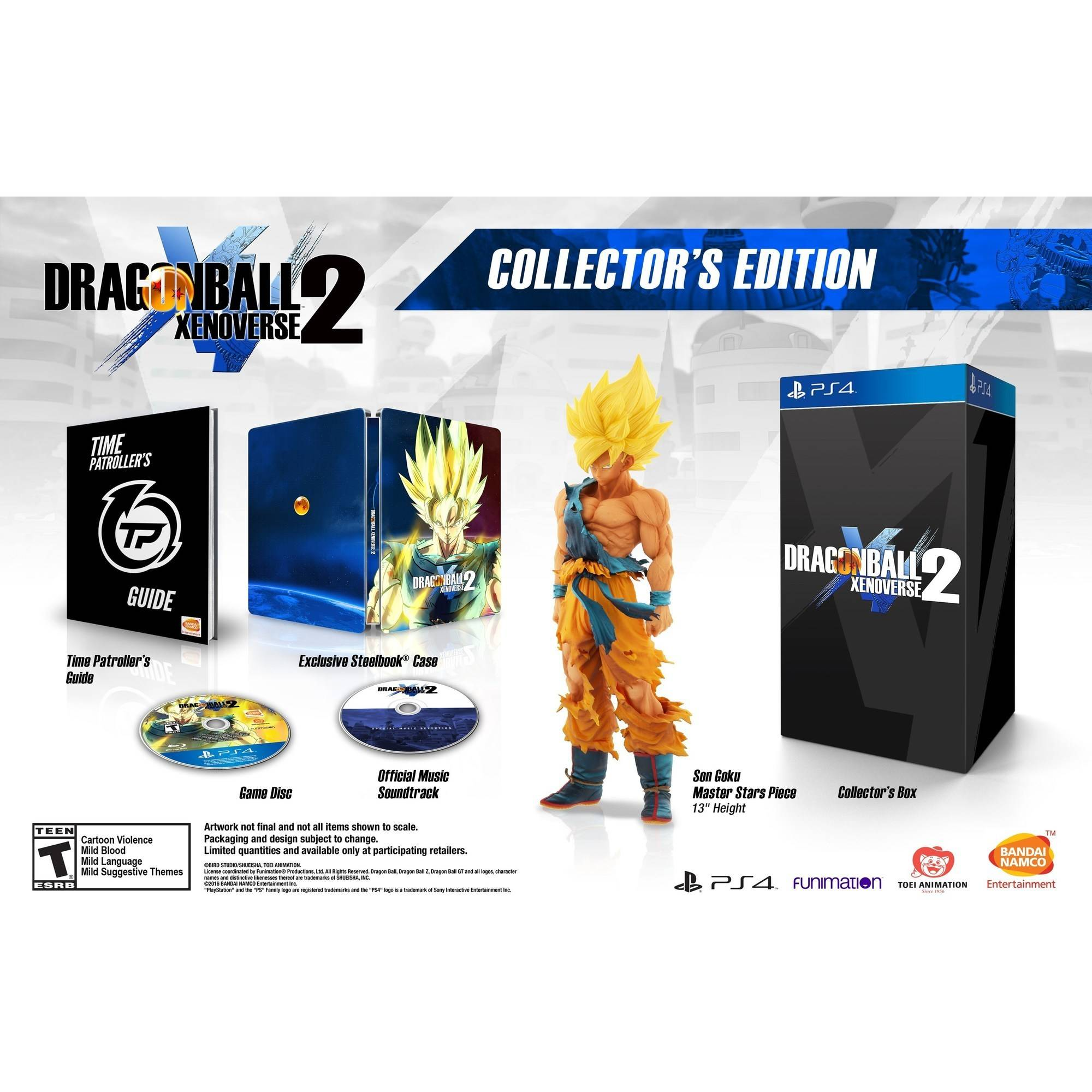 Dragon Ball Xenoverse 2 Collector's Edition (Playstation 4) by Dimps