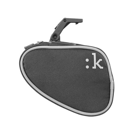 Medium Saddle Bag with ICS - Anthracite