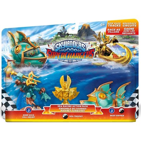 Skylanders SuperChargers: Racing Sea Pack (Skylanders Slippers)