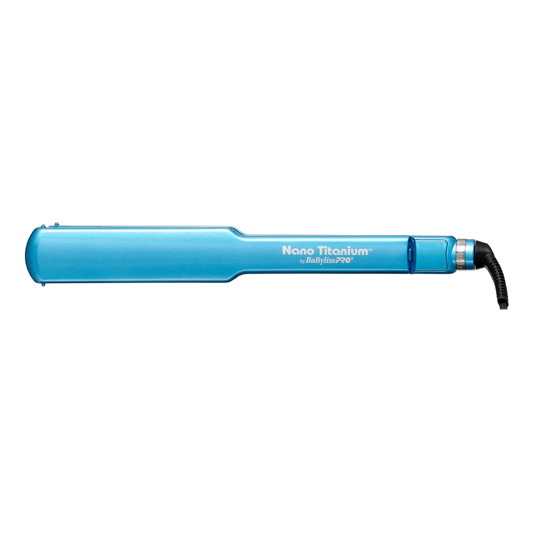 """Babyliss Pro Nano Titanium Blue Flat Iron, 1.5"""""""