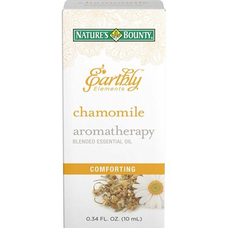 6 Pack - Nature's Bounty Earthly Elements Aromatherapy Essential Oil, Chamomile 0.34 oz