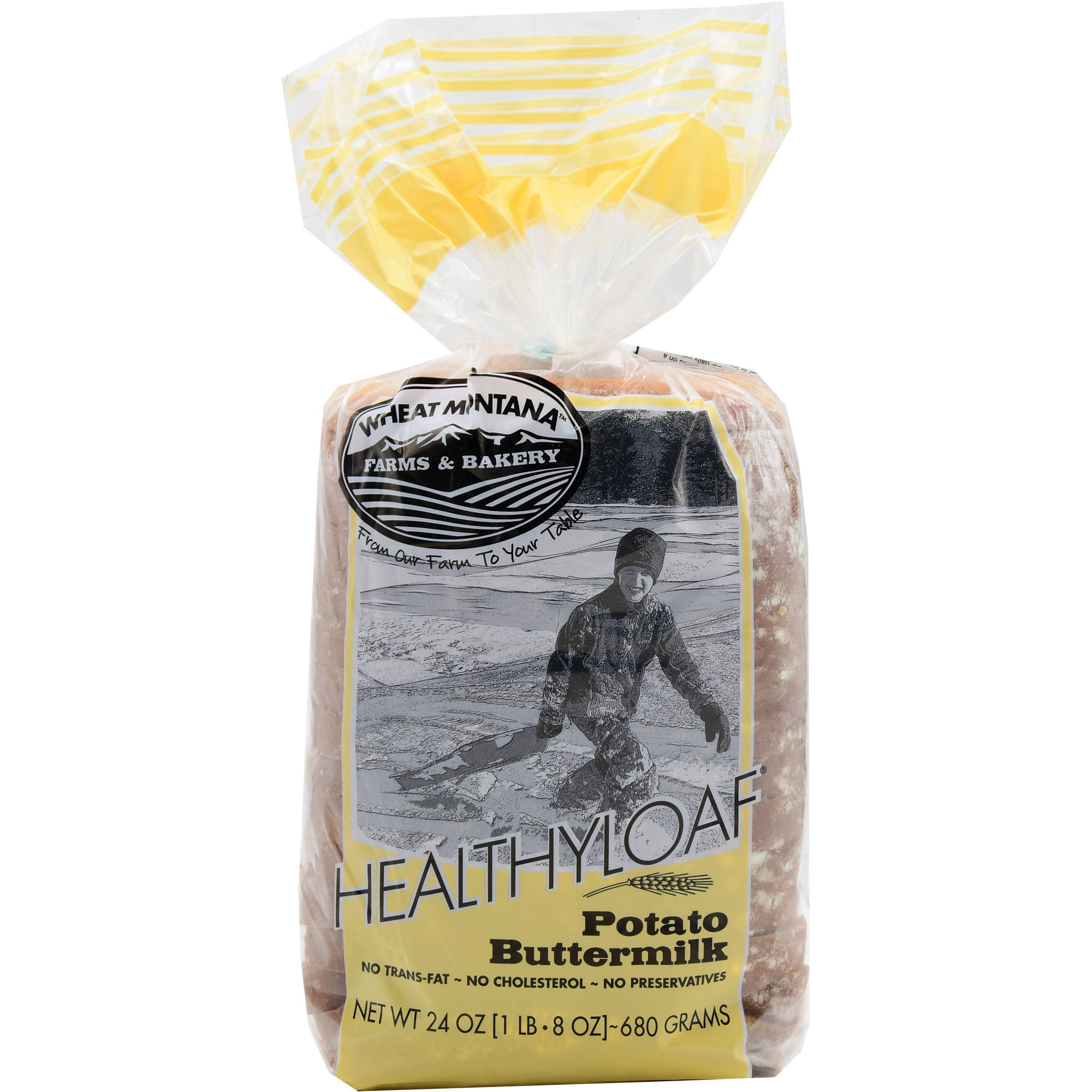 Wheat Montana: Potato Buttermilk Healthy Loaf Bread, 24 Oz