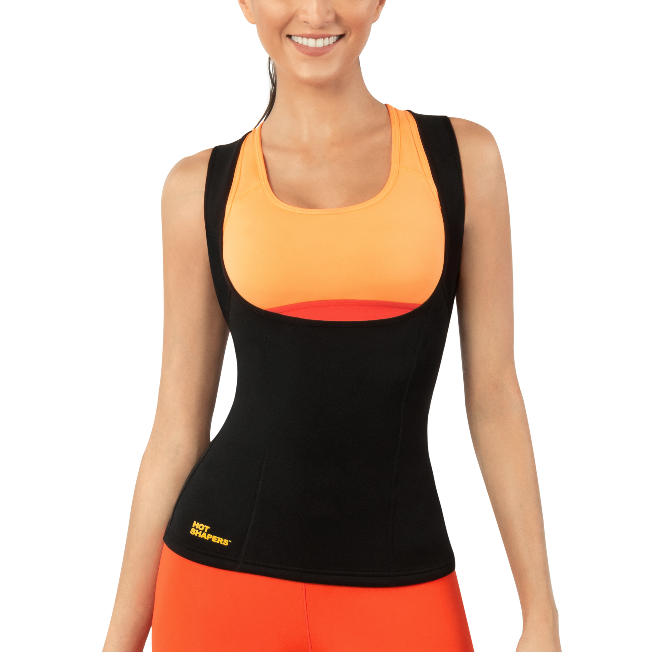 5ca65a5fad Hot Shapers Cami Hot Thermal Shirt for Women - Compression and Calorie Burn  Fabric Technology Activewear - Walmart.com