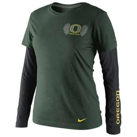 Nike Oregon Ducks Womens Seasonal Long Sleeve T Shirt