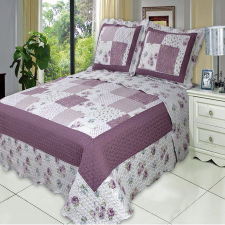 Ventura Oversize Coverlet Set Twin Size 2PC (Multi String Pearl Set)