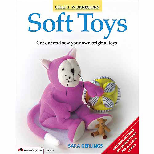 Design Originals-Soft Toys, Pk 1, Design Originals