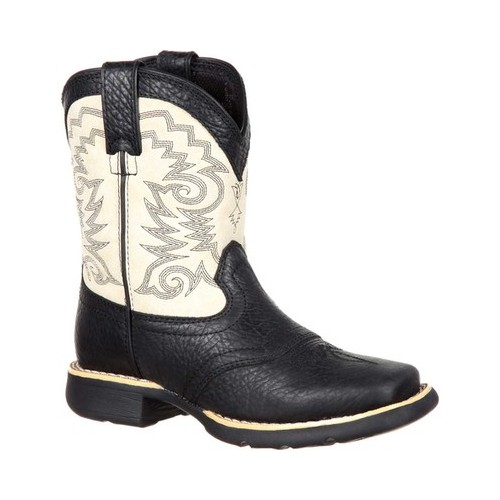 "Children's Durango Boot DBT0192Y Lil' Saddle Big Kid 7"" Western Boot by Durango"