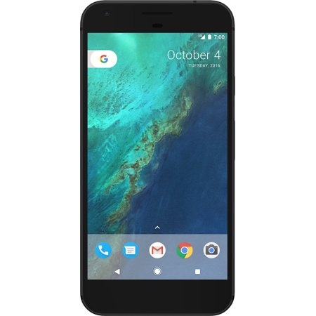 Google Google Pixel XL 128GB Quite Black (Verizon Unlocked) Refurbished (Best Used Verizon Android Phone)