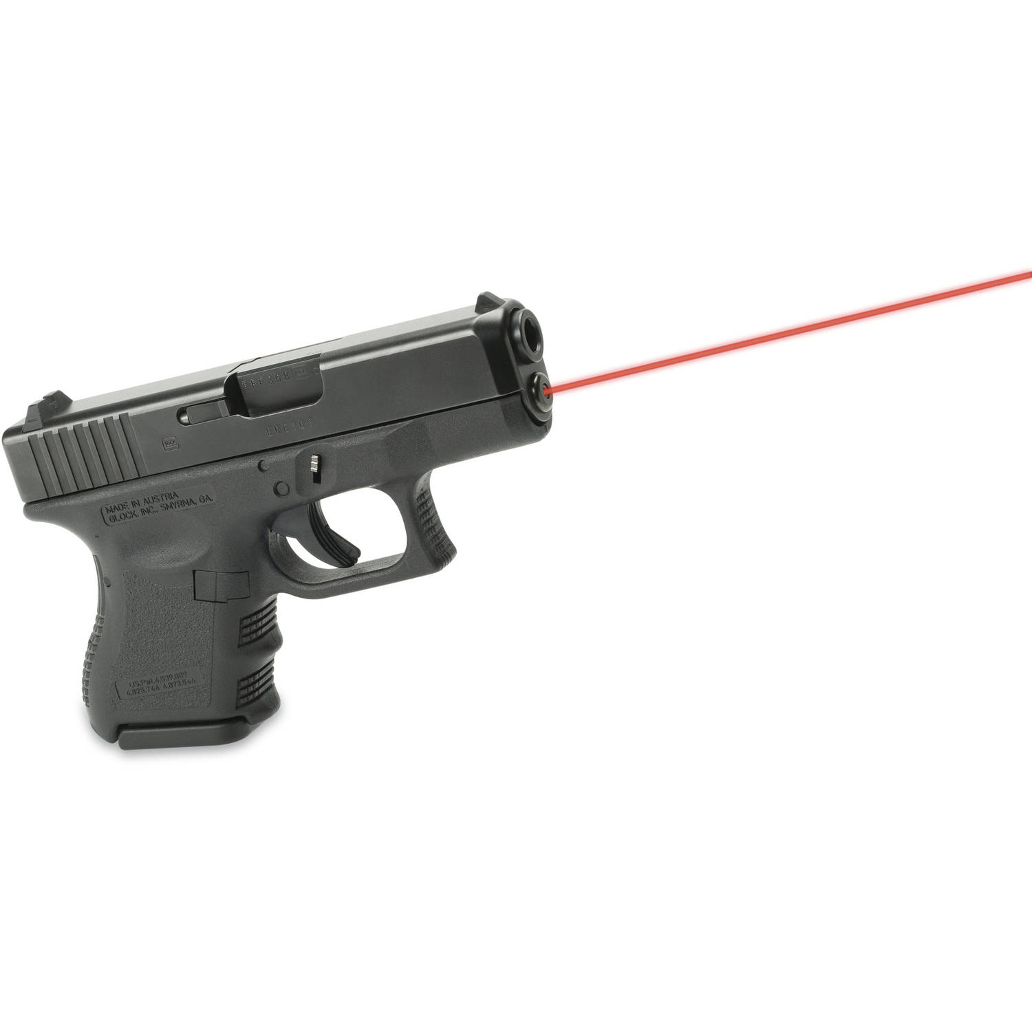 LaserMax Red Guide Rod Laser For Glock 36