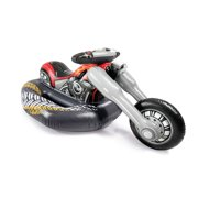 Intex 57534EP Cruiser Motorcycle Inflatable Ride-On Pool Float Toy for Ages 3+