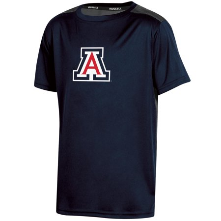 Youth Russell Navy Arizona Wildcats Color Block T-Shirt - Arizona Wildcats Baseball