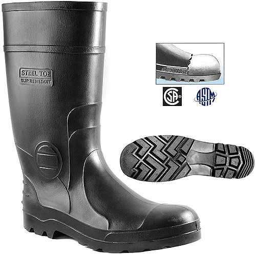 s 14 quot steel toe utility boots walmart