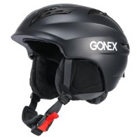 Ski Helmet, Gonex Winter Snow Snowboard Skate Helmet with Safety Certificate for Men, Women & Young, Matte Black M Size