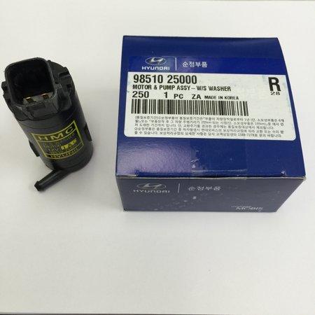 Genuine OEM Hyundai Kia Washer Pump for Accent 00-05 Tiburon 01-04 Picanto 04-10