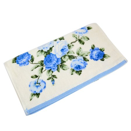 34*75cm Soft Cotton Face Flower Towel Bamboo Fiber Quick Dry Towels BU