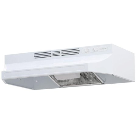 NuTone RL6200 Series 24 in. Ductless Under Cabinet Range Hood with Light White